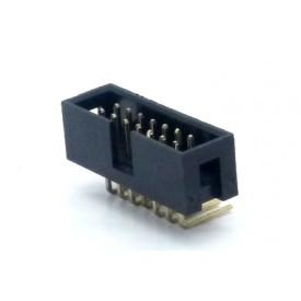 Conector Header perfil baixo 14 vias 90° 103-14GRK - Penzel