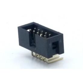 Conector Header perfil baixo 10 vias 90° 103-10GRK - Penzel
