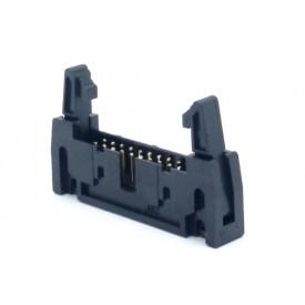 Conector Header com ejetor 20 vias 90° 104-20GRKL - Penzel