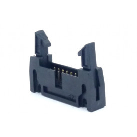 Conector Header com ejetor 14 vias 90° 104-14GRKL - Penzel