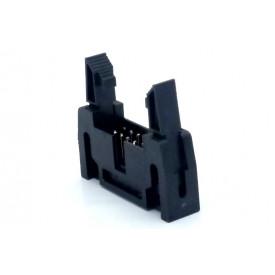 Conector Header com ejetor 10 vias 90° 104-10GRKL - Penzel