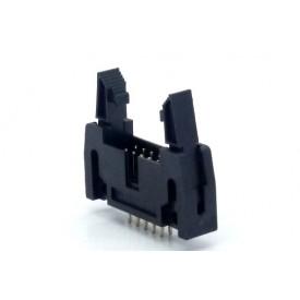 Conector Header com ejetor 10 vias 180° DS1011-01 - 104-10GSKL - Penzel
