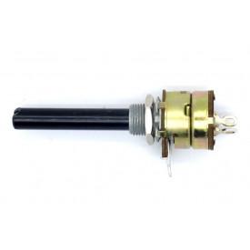 Potenciometro 16mm Log B4K7  eixo plastico com chave - Constanta