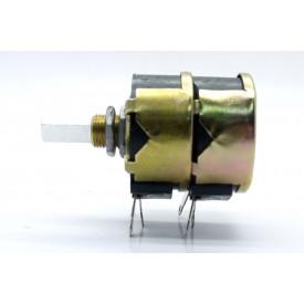Potenciômetro de Fio Duplo de 10K+10K Ω 4 Watt 32mm Linear eixo metálico - Fernik