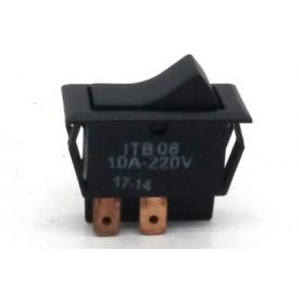 Interruptor de Tecla Bipolar ITB08 LIGA/DESLIGA 10A - Emicol