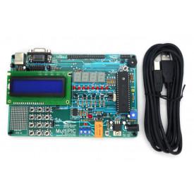 MultiPIC Advanced® Kit Desenvolvimento PIC18F4520