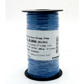 Fio Wire Wrap 28AWG  0.08mm  Azul WPR.A.28.006 Rolo com 300 Metros - Almak