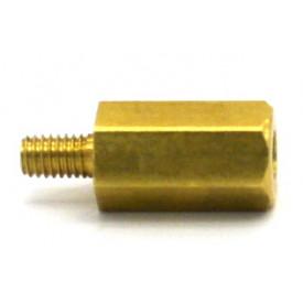 Espaçador para placa em latão FR-110 - 11.5mm de Comprimento - Franab