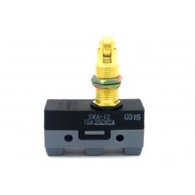 Micro Switch com Êmbolo com rolete penperdicular - SWA-I2 - Switron