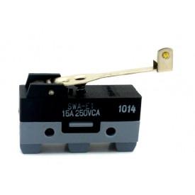 Micro Switch com Alavanca Rígida média com Rolete - SWA-E1 - Switron
