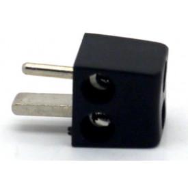 Conector Din 2 Pinos JL21310 Preto - Jiali