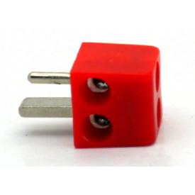 Conector Din 2 Pinos JL21310 Vermelho - Jiali