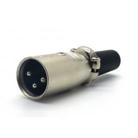 Conector XLR Macho 3 Pinos JDW9415/JL33008A - Jiali