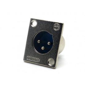 Conector XLR Macho Para Painel JDW9423/JL33040A - Jiali