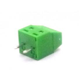 Conector Verde Multipolar AKZ602-02 Macho de 2 vias - Passo 3.81mm - Phoenix Mecano