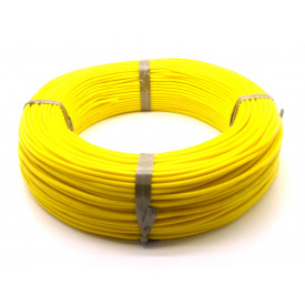 Cabo Mult Teste Amarelo 0.25mm - Rolo Com 100 Metros