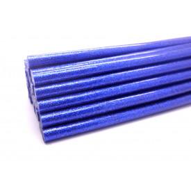 Cola Quente Glitter/Purpurina Azul 11mm - 1 Kilo