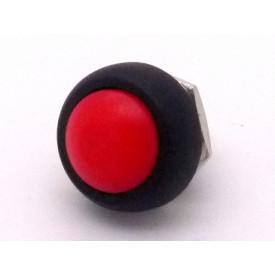 Chave Push-Button OFF-(ON) PBS-33B Vermelho - Jietong
