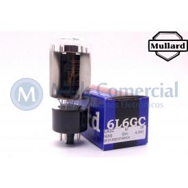 Válvula 6L6GC Pentodo de Potência Mullard