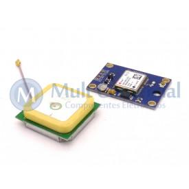 Módulo GPS Ublox GPS6MV2 Compatível com Arduino - BC