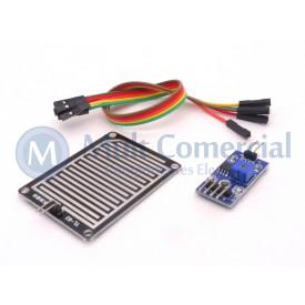 Módulo de Sensor de Chuva YL-38 / FC-37 Compatível com Arduino - GC-12