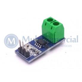 Módulo Sensor de Corrente ACS712ELC-30A Compatível com Arduino - GC-45
