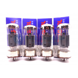 Quarteto Casado da Válvula KT66 Tetrodo de Potência Tung-Sol
