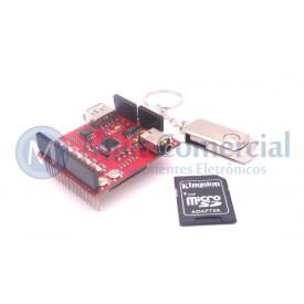 Módulo Shield MP3 Compatível com Arduino - BC