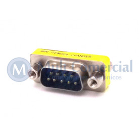 Adaptador DB09 MachoxFêmea DS-1082-02-9P8LNCC - Connfly