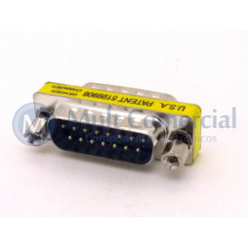 Adaptador DB15 MachoxMacho DS-1082-02-15P8LNCC - Connfly