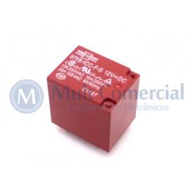 Relé para uso geral 12Vdc 20A SPDT 1 contato reversível 875B-1CC-F-S  - Song Chuan