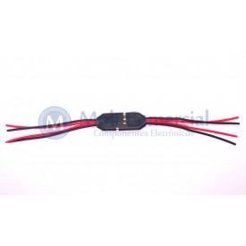 Conjunto de Plug 4 Vias com Terminal ALF055JC