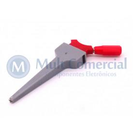 Micro Pinça Vermelha PI-0810 - Fusi-Bras