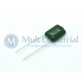 Capacitor Poliéster Verde 47KPF/400V ( 0.047uF / 47NF / 473 )