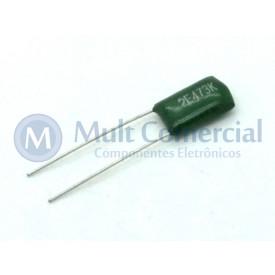 Capacitor Poliéster Verde 47KPF/250V ( 0.047uF / 47NF / 473 )