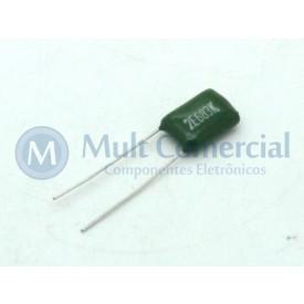 Capacitor Poliéster Verde 68KPF/250V ( 0.068uF / 68NF / 683 )