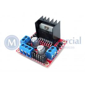 Controlador Ponte H duplo L298 Compatível com Arduino - GC-36