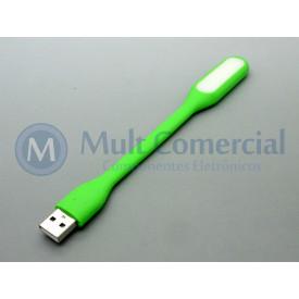 Lâmpada Led USB Portátil - Verde