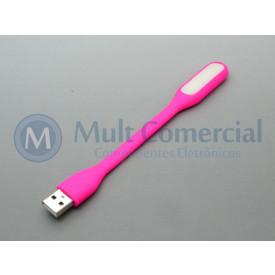 Lâmpada Led USB Portátil - Rosa