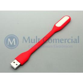 Lâmpada Led USB Portátil - Vermelho