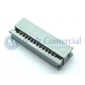 Conector Header para Flat Cable IDC 26 Vias DS1015-26NN2A