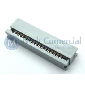 Conector Header para Flat Cable IDC 34 Vias DS1015-34NN2A