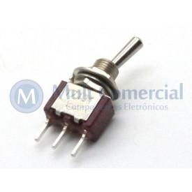 Interruptor de Alavanca Metálica Unipolar (PCI) 5A 17.101 LIGA/LIGA - Margirius