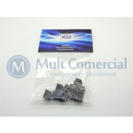 Suporte para Led PLD2-5C - Embalagem com 10 Peças