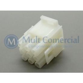Conector HyLok Macho 09 Vias - LW6350F0902