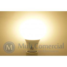 Lâmpada Led A60 6W 3.000K - Luz Amarela 550 Lumens - Bivolt - Equivale a 60W Incadescente