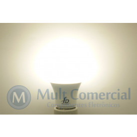 Lâmpada Led A60 8W 4.000K - Luz Branca Natural 800 Lumens - Bivolt - Equivale a 70W Incadescente