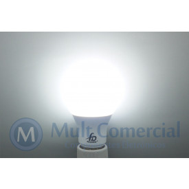 Lâmpada Led A60 6W 6.500K - Luz Branca 550 Lumens - Bivolt - Equivale a 60W Incadescente