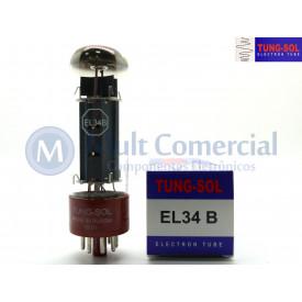 Válvula EL34B  Pentodo de Potência Tung-Sol
