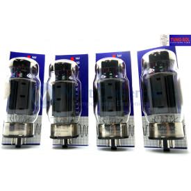 Quarteto Casado Válvula KT120 Tetrodo de Potência Tung-Sol